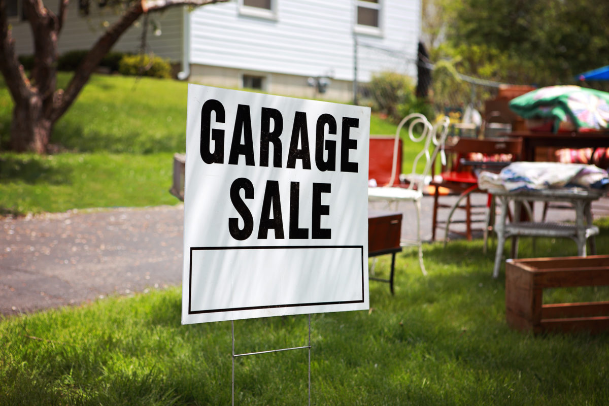 Your Three-Stage Guide to Hosting a Successful Garage Sale