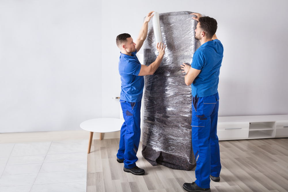 How to wrap furniture